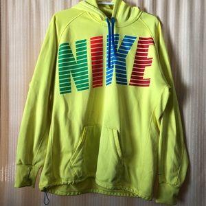 Nike Fluorescent Yellow Sweatshirt